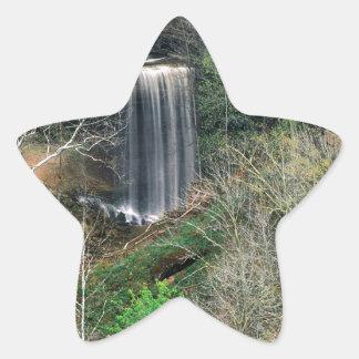 Waterfall Big Cliftymadison Indiana Star Sticker