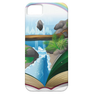 Waterfall book iPhone 5 cover