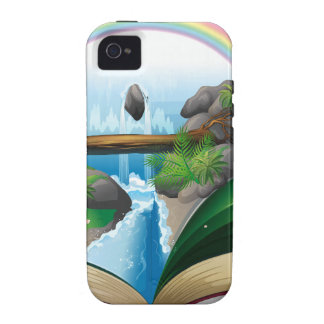 Waterfall book iPhone 4 cover