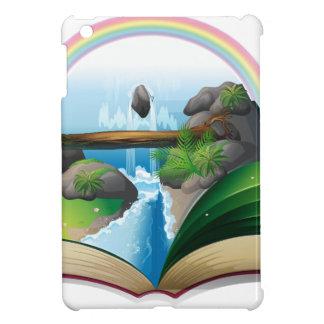Waterfall book iPad mini case