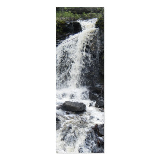 Waterfall Bookmark Business Card Templates