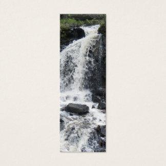 Waterfall Bookmark Mini Business Card