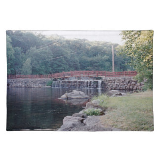 Waterfall Bridge Cloth Placemat
