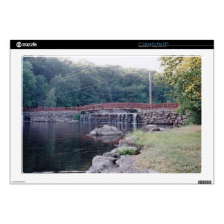 Waterfall Bridge Decals For Laptops