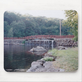 Waterfall Bridge Mouse Pad
