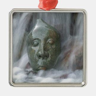 Waterfall Buda Metal Ornament