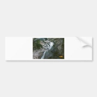 waterfall bumper sticker