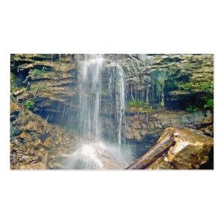 waterfall business card