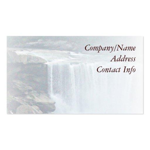 Waterfall Business Card Template