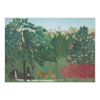 Waterfall by Henri Rousseau, Vintage Impressionism Card