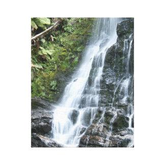 Waterfall canvas