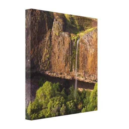 Waterfall Canvas Phantom Falls in Chico CA Canvas Print