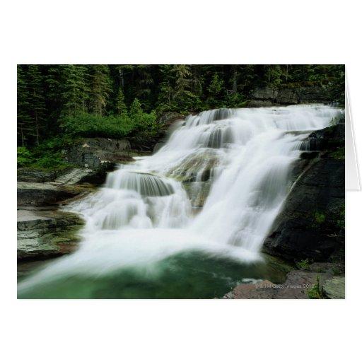 Waterfall Greeting Cards