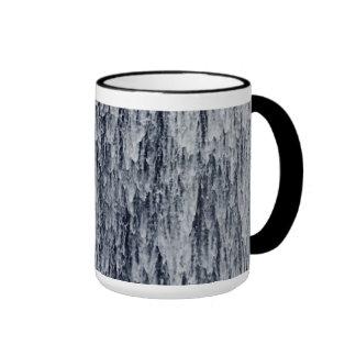 Waterfall Cascade Background Mugs