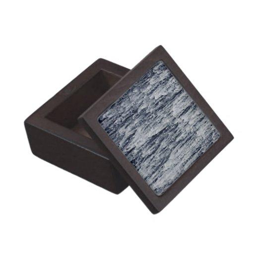 Waterfall Cascade Background Premium Keepsake Box
