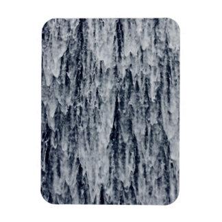 Waterfall Cascade Background Rectangular Magnets