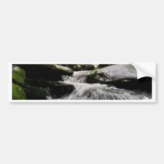 Waterfall Cascades Great Smoky Mountains Bumper Sticker