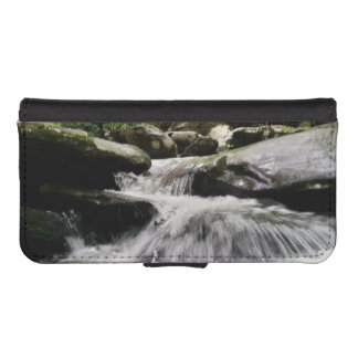 Waterfall Cascades Great Smoky Mountains iPhone SE/5/5s Wallet Case