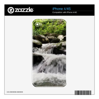 Waterfall Cascades Great Smoky Mountains Skin For iPhone 4