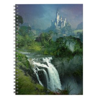 Waterfall Castle Notebook