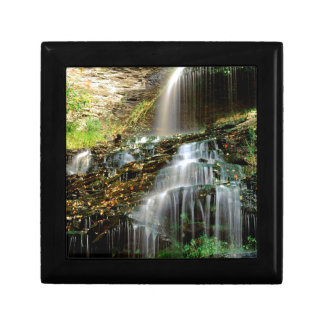 Waterfall Cathedral West Virginia Jewelry Box