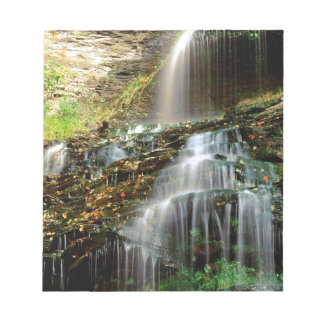 Waterfall Cathedral West Virginia Memo Notepads