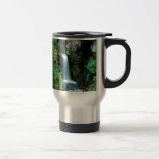 Waterfall Christine Mount Rainier Park Travel Mug