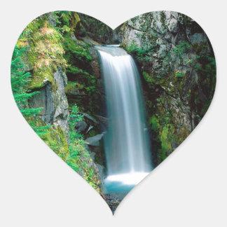 Waterfall Christine Mount Rainier Sticker
