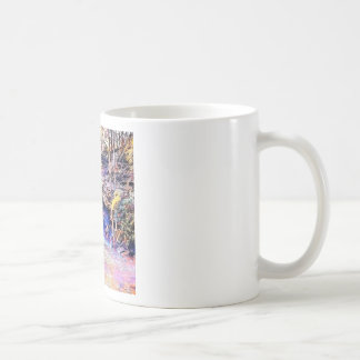 Waterfall Color Painting Coffee Mug