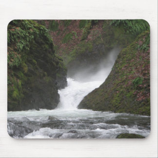 Waterfall Columbia Gorge Mouse Pad