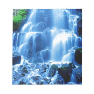 Waterfall Columbia Gorge Note Pad