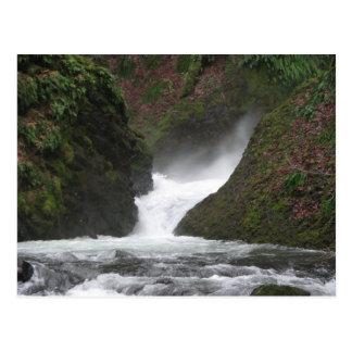 Waterfall Columbia Gorge Postcard