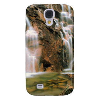 Waterfall Cool Water Sawtooth Wilderness Idaho Galaxy S4 Cover