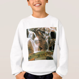 Waterfall Cool Water Sawtooth Wilderness Idaho Sweatshirt