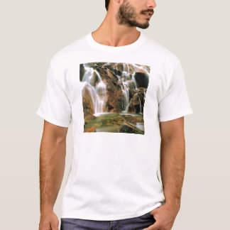 Waterfall Cool Water Sawtooth Wilderness Idaho T-Shirt