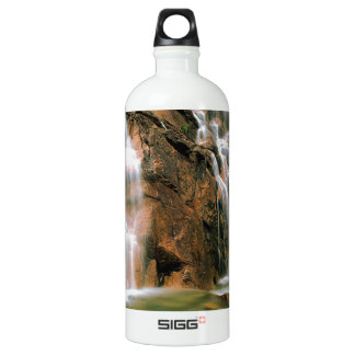Waterfall Cool Water Sawtooth Wilderness Idaho Water Bottle