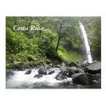 costa, rica, waterfall, river