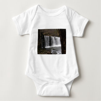 WaterFall country in wales, Brecon beacons Baby Bodysuit