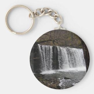 WaterFall country in wales, Brecon beacons Keychains