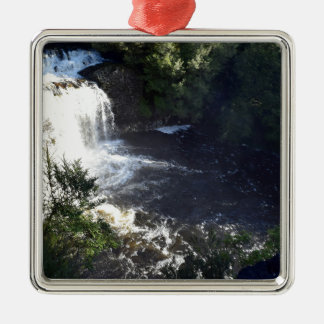 WATERFALL CRADLE MOUNTAIN TASMANIA AUSTRALIA METAL ORNAMENT