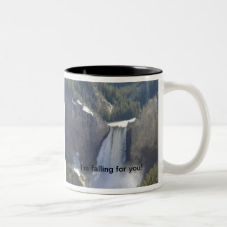 """Waterfall Cup """"I'm falling for you!"""""""