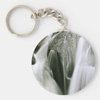 WATERFALL DETAIL IN SEPIA KEYCHAIN