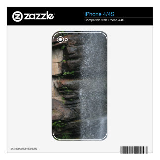 Waterfall Drops iPhone 4 Decals