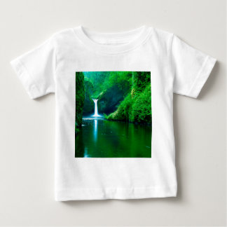 Waterfall Eagle Wilderness Area Columbia Baby T-Shirt