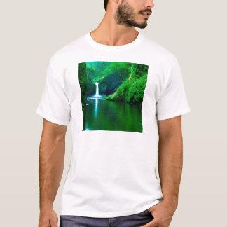 Waterfall Eagle Wilderness Area Columbia T-Shirt
