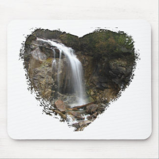 Waterfall Erosion Mouse Pad