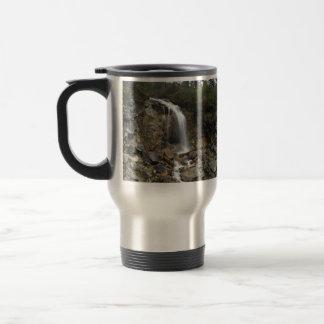 Waterfall Erosion Travel Mug
