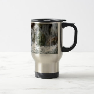 Waterfall Face Travel Mug