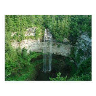Waterfall Fall Creek Falls State Park TN Postcard