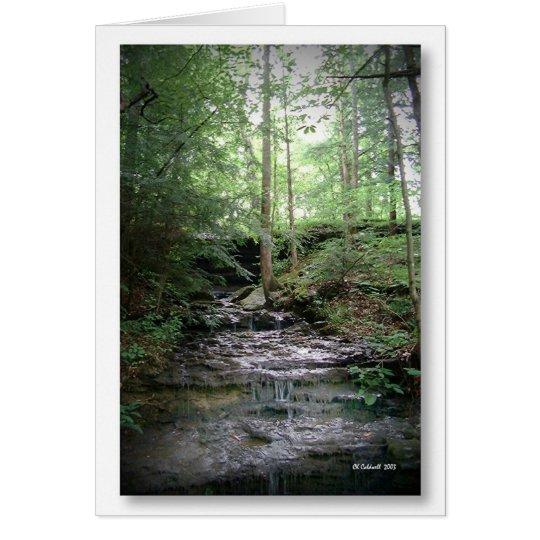 Waterfall Garden Card